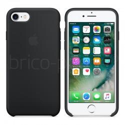 Coque en silicone Noire Apple pour iPhone 7 et 8 photo 2