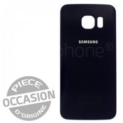 Vitre arrière NOIR COSMOS d'occasion pour Samsung Galaxy S6 Edge photo 2