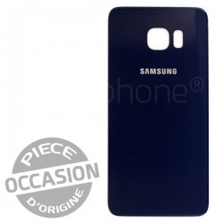 Vitre arrière Noire d'occasion pour Samsung Galaxy S6 Edge Plus photo 2