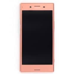 Bloc Ecran avec châssis pour Sony Xperia XZ Premium Rose photo 2