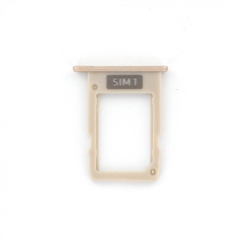 Rack tiroir carte SIM Or pour Samsung Galaxy J5 2017 et J7 2017 photo 2