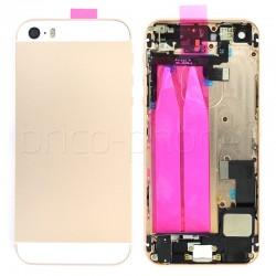 Coque arrière pour iPhone SE Or photo 2