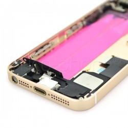 Coque arrière pour iPhone SE Or photo 4