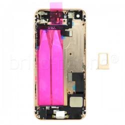 Coque arrière pour iPhone SE Or photo 5