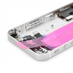 Coque arrière pour iPhone SE Argent photo 3