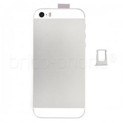 Coque arrière pour iPhone SE Argent photo 6
