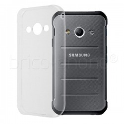 Coque en gel transparente pour Samsung Galaxy X Cover 3 photo 1