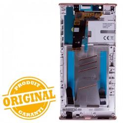 Bloc Ecran Rose sur châssis pour Sony Xperia L1 / L1 Dual photo 3