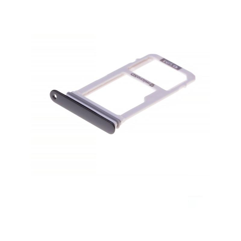 Rack tiroir carte SIM et SD pour Samsung Galaxy A3 2017 Noir photo 1