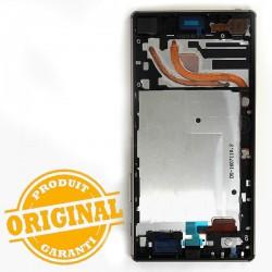Bloc Ecran avec châssis pour Sony Xperia Z5 Premium Chrome photo 3