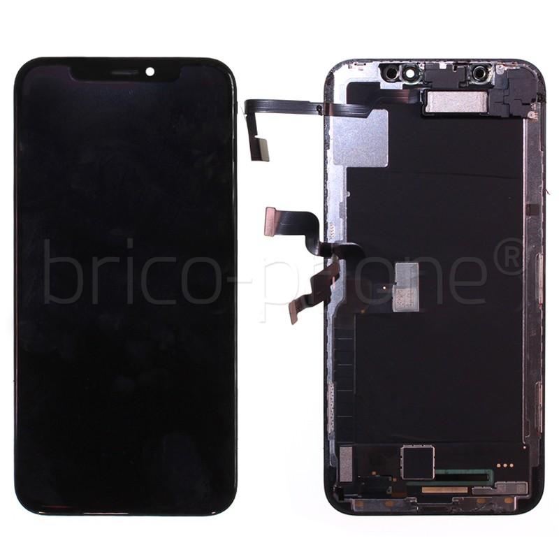 Ecran NOIR iPhone X PREMIUM Pré-assemblé photo 2
