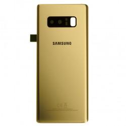 Vitre arrière pour Samsung Galaxy Note 8 Or Topaze photo 2
