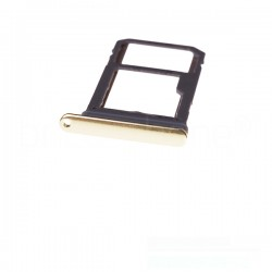 Rack tiroir carte SIM et SD Or Topaze pour Samsung Galaxy Note 8 photo 2