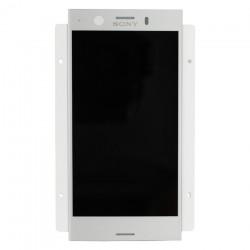 Ecran Argent avec Vitre et LCD prémontés pour Sony Xperia XZ1 Compact photo 2