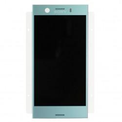 Ecran Bleu avec Vitre et LCD prémontés pour Sony Xperia XZ1 Compact photo 2
