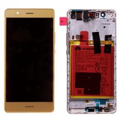 Ecran Or COMPLET prémonté sur chassis avec batterie pour Huawei P9 LITE photo 2