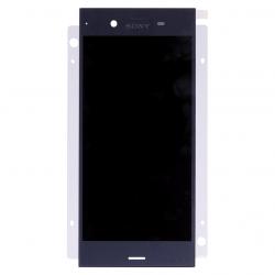 Ecran Bleu avec Vitre et LCD prémontés pour Sony Xperia XZ1 photo 2