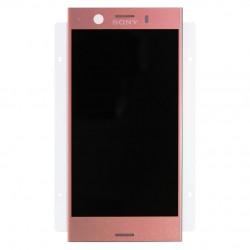 Ecran Rose avec Vitre et LCD prémontés pour Sony Xperia XZ1 Compact photo 2