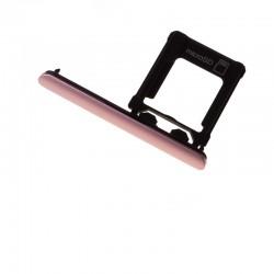 Cache et Rack tiroir carte SD Rose pour Sony Xperia XZ1 et XZ1 Dual photo 2