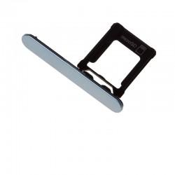 Cache et Rack tiroir carte SD Bleu pour Sony Xperia XZ1 Compact photo 2