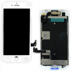 Ecran BLANC iPhone 8 PREMIUM Pré-assemblé photo 01
