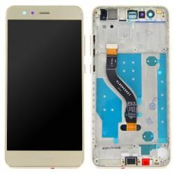 Bloc Ecran Or COMPLET prémonté sur chassis pour Huawei P10 Lite