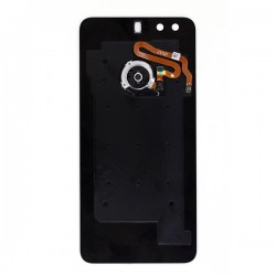 Vitre arrière Noire avec lecteur d'empreinte pour Huawei Honor 8 face arrière