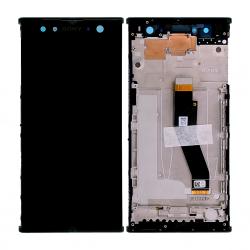 Bloc Ecran Noir sur châssis pour Sony Xperia XA2 ULTRA