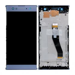 Bloc Ecran Bleu sur châssis pour Sony Xperia XA2 ULTRA