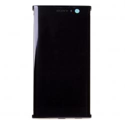 Bloc Ecran Noir avec vitre et LCD sur châssis pour Sony Xperia XA2_photo1