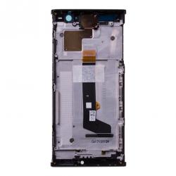 Bloc Ecran Noir avec vitre et LCD sur châssis pour Sony Xperia XA2_photo2