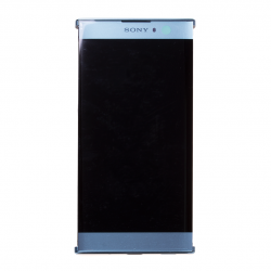 Bloc Ecran bleu avec vitre et LCD sur châssis pour Sony Xperia XA2 photo 3
