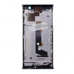 Bloc Ecran bleu avec vitre et LCD sur châssis pour Sony Xperia XA2 photo 1