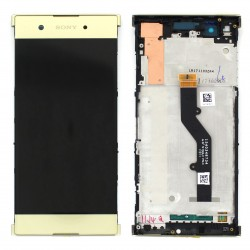 Bloc Ecran Or sur châssis pour Sony Xperia XA1 Plus / XA1 Plus Dual