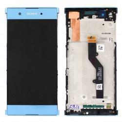 Bloc Ecran Bleu sur châssis pour Sony Xperia XA1 Plus / XA1 Plus Dual