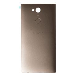 Coque arrière Or avec lecteur d'empreinte pour Sony Xperia L2 et L2 Dual Sim
