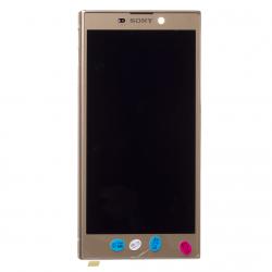 Bloc Ecran Or sur châssis pour Sony Xperia L2 / L2 Dual