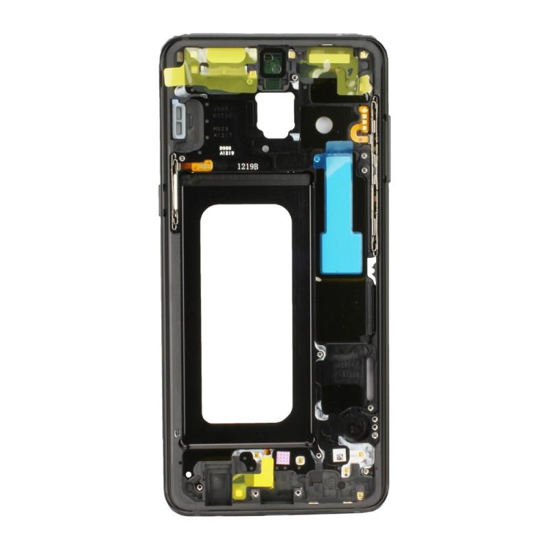 34dacf946ba368 Châssis Intermédiaire Noir pour Samsung Galaxy A8 2018à changer si ...