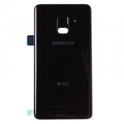 Vitre arrière Noire pour Samsung Galaxy A8 2018