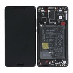 BLoc Ecran Noir COMPLET prémonté sur chassis + batterie pour Huawei Mate 10