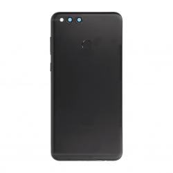 Coque arrière avec lecteur d'empreinte pour Huawei Honor 7X Noir photo 2
