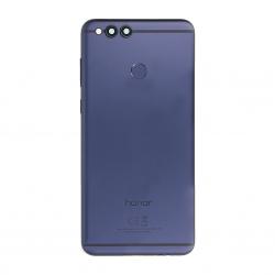 Coque arrière avec lecteur d'empreinte pour Huawei Honor 7X Bleu photo 2