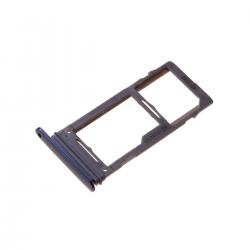 Rack tiroir pour carte SIM Bleu pour Samsung Galaxy S9 Plus photo 2