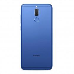 Coque arrière avec chassis et lecteur d'empreintes pour Huawei Mate 10 Lite Bleu photo 2