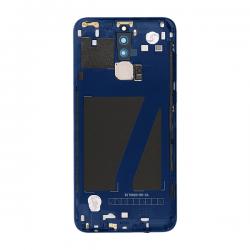 Coque arrière avec chassis et lecteur d'empreintes pour Huawei Mate 10 Lite Bleu photo 3
