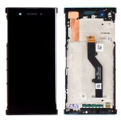 Bloc Ecran Noir sur châssis pour Sony Xperia XA1 Plus / XA1 Plus Dual