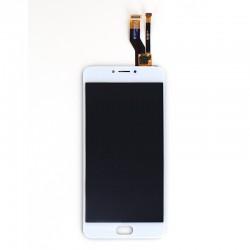 Ecran Blanc COMPATIBLE avec vitre avec LCD pré assemblé pour Meizu M3 Note photo 1