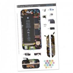 Patron magnétique d'aide au montage pas à pas pour iPhone 6S photo 2