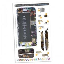 Patron magnétique d'aide au montage pas à pas pour iPhone 6S Plus photo 2