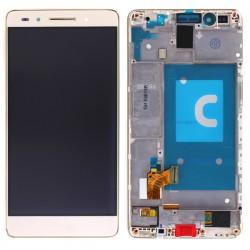 Ecran Or COMPLET (vitre + LCD) prémontés sur chassis pour Huawei Honor 7 photo